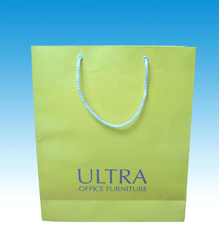 Eco-friendly paper bag with various sizes