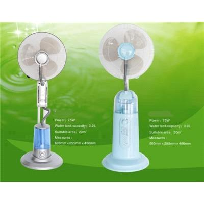 Humidifier Fan Humidification Home Cooling Misting