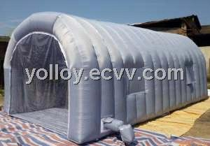Mobile Inflatable Spray Workstation Tent Outdoor