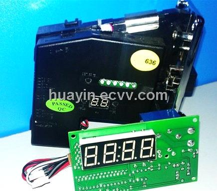 Multi Coin Acceptor with Timer Board