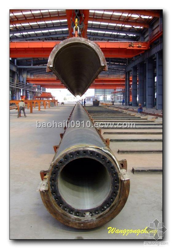NEW!! Pre-stressed Concrete Piles Production with Wet Cast Spun machine..