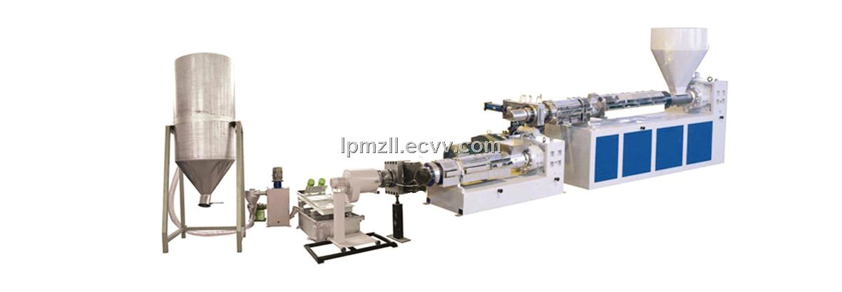 PP PE Double Step Granulating Line Machine