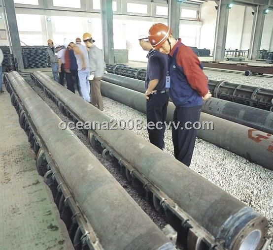 Pre-Stressed High Concrete Piles Spun Machine