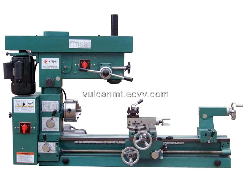 Turning, Drilling and Milling, 3-In-1 Machine