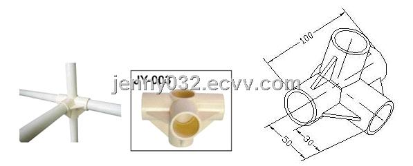 pvc plastic joints fastener pipe clamp for OD 28mm pipe JY-003 from