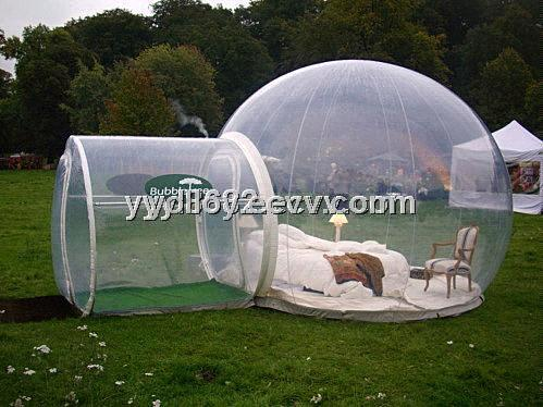 Blow up Clear PVC Bubble Tree C&ing Lawn Tent & Blow up Clear PVC Bubble Tree Camping Lawn Tent purchasing ...