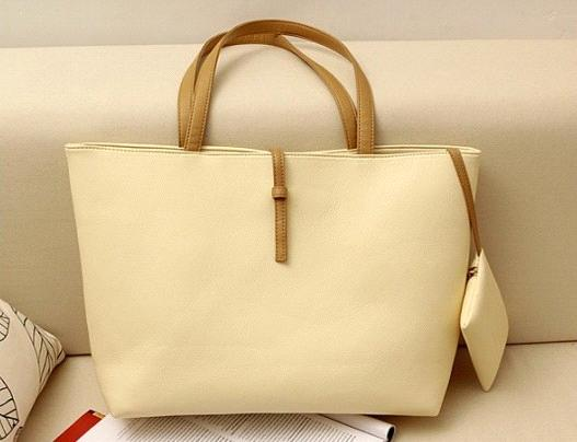 the New Candy-Colored Big Bag Trend Retro Shoulder Ladies Handbag Female Bag Diagonal Package