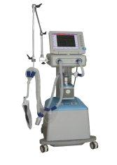 100bpm Medical Ventilators SIMV Respiratory Machine with 100% FiO2