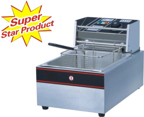 1-Tank Electric Fryer (1-Basket)