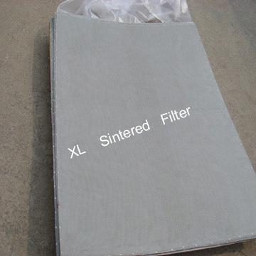 5 layer sintered wire mesh laminates