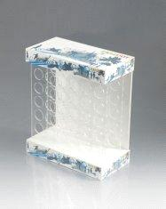 Acrylic Pop Display Holders Retail Products Cosmetic Countertop Stand Cases