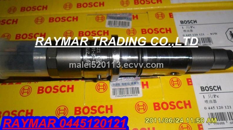 Bosch common rail injector 0445120121 for Cummins ISLE engine 4940640