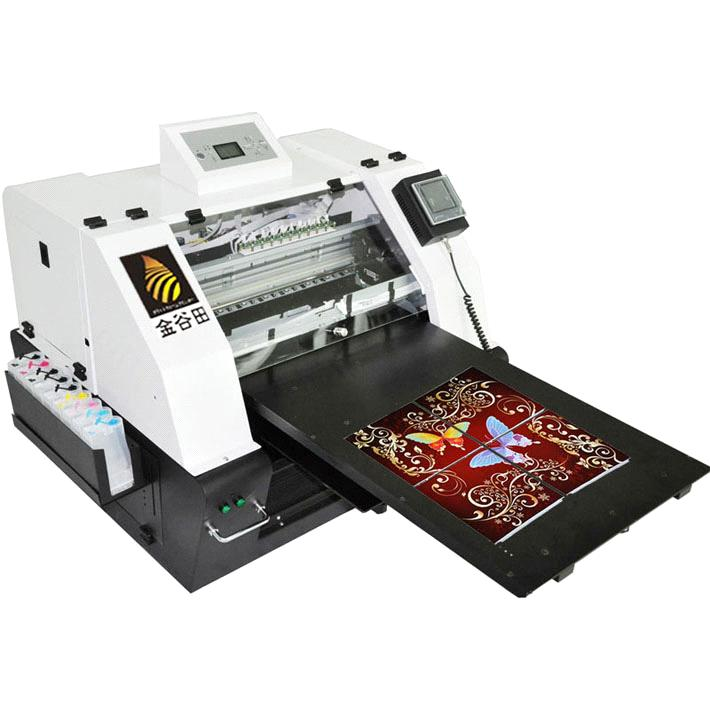 Digital Flatbed Ceramic Eco Solvent Printer From China