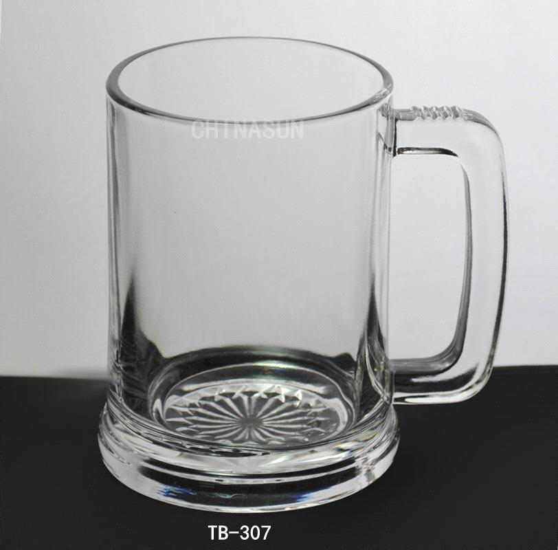 fasional glass beer mug with handle 500ml purchasing. Black Bedroom Furniture Sets. Home Design Ideas