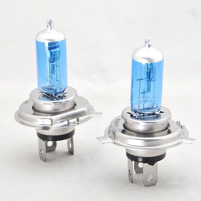 H4 Auto Halogen Car Headlight Bulb Glass Quartz 12v 24v 90 100w