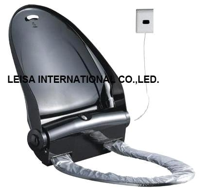 Pleasant Hygienic Toilet Seat With Sensor Operated Ls G2 Black Color Uwap Interior Chair Design Uwaporg