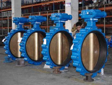 Lug Type Soft  Seal Butterfly Valve