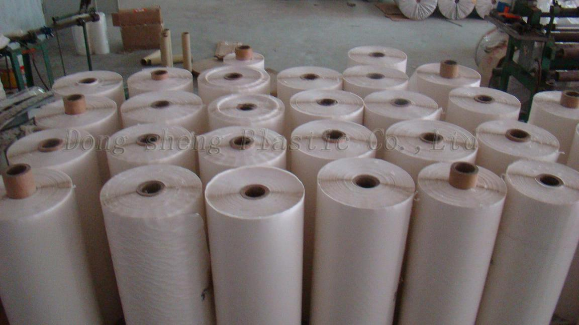 PVC adhesive film with hot melt adhesive