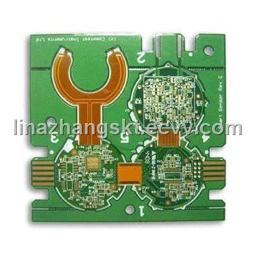 Rigid-Flexible PCB with ENIG Surface-finish