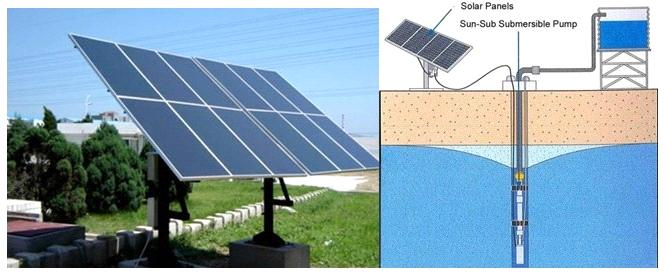 DC Solar Water Pump (Big)