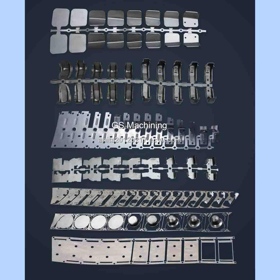 Tool Room Strip Layout Metal Forming Stamping Metal Metal