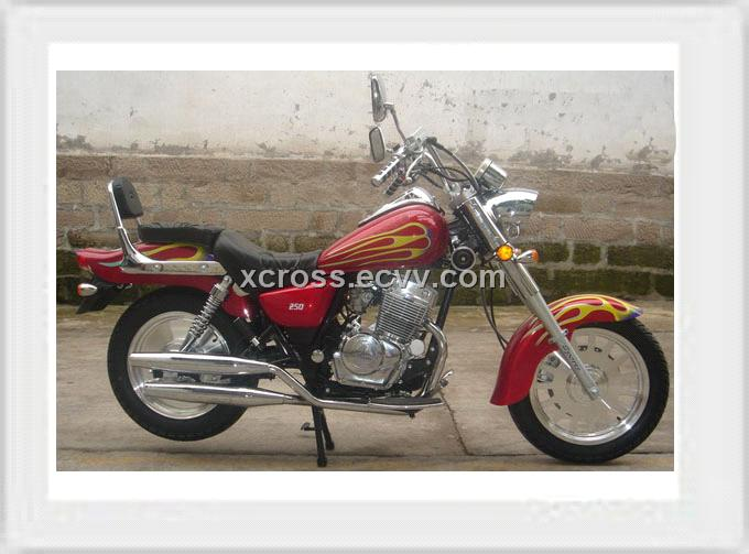 XCR 250ST, 250CC motorcycle with double cylinder engine from