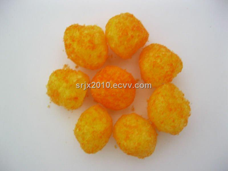 corn puffed snacks food extruder plant