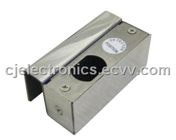 electronic Door Lock-CJ-SSH01 Stainless steel bracket for frameless glass door
