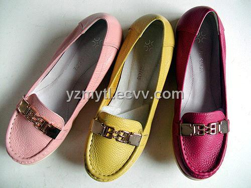 achat de de plates ressort en dames Chaussures cuir souring mode de agent zRqHyw