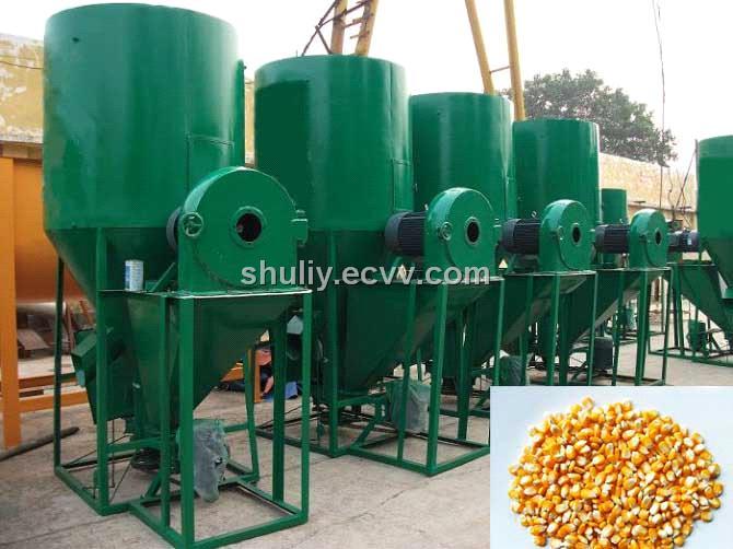 Animal Feed Crushing and Mixing Machine