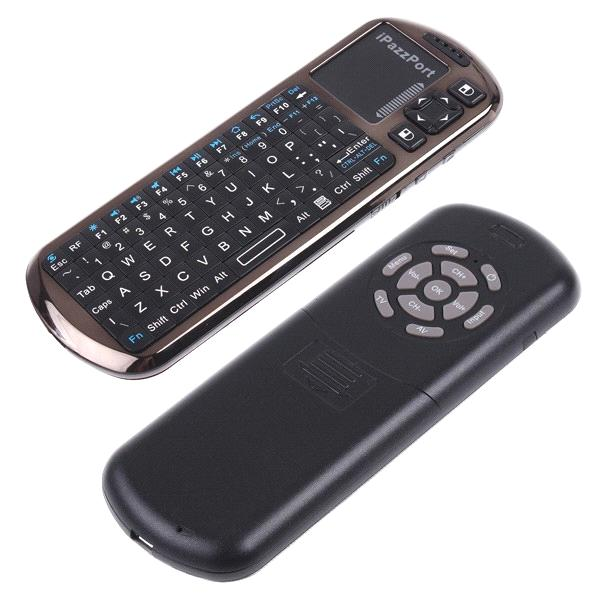 iPazzPort mini wireless keyboard with touchpad for tablet pc