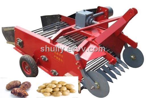 Potato Harvesting Machine Powered by Tractor