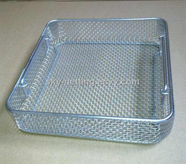 Stainless Steel Wire Mesh Basket Strainer purchasing, souring agent ...