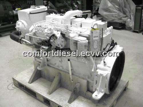 cummins marine engine, 6BT5 9 180HP/2200rpm used for fish boats