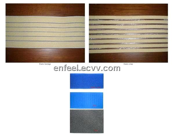 Velcro-Hook and Loop and Elastic Bandage and Elastic Strap