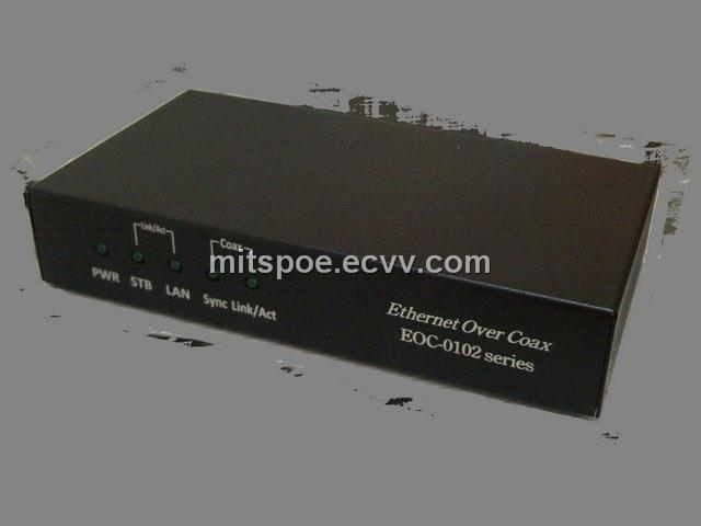 Ethernet Over Coaxial (EOC-0102 Serires)