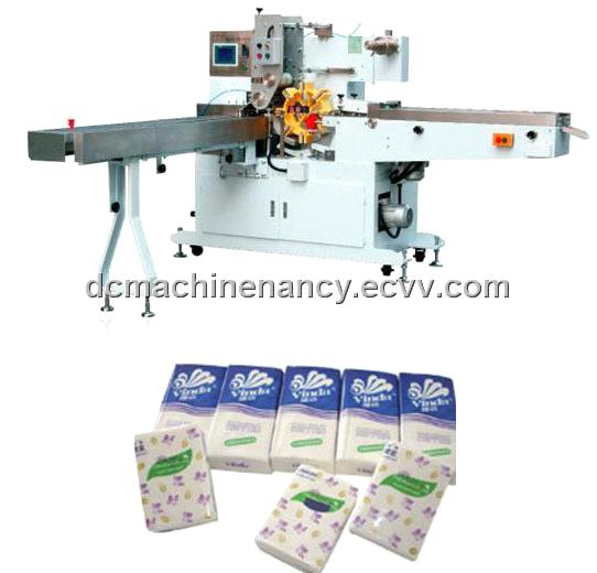 Paper Handkerchief Packing Machine (single bag) (DC-PHPM-1)