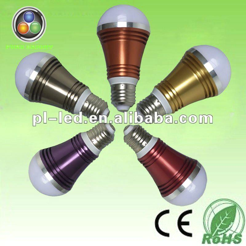 2012 energy saving high power 5w led bulb e27 85~265v