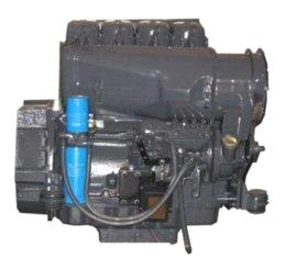 230N.m F4L912 3.77L Displacement Air Cooled Diesel Deutz Generator Engine