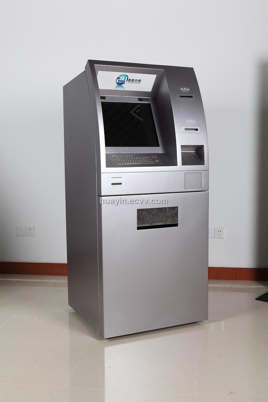 Atm Money Dispenser Kiosk Machine Purchasing Souring