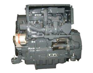 BF4L913 Air-cooled Diesel Deutz Generator Engine with 12L - 15L Oil Capacity
