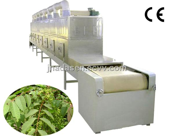 Bay leaf/myrcia microwave dryer&sterilizer