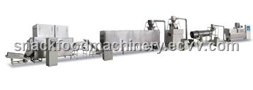 Cereal corn flakes processing line
