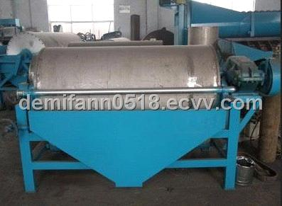 Double roller  permanent magnetic dry separator for iron ore