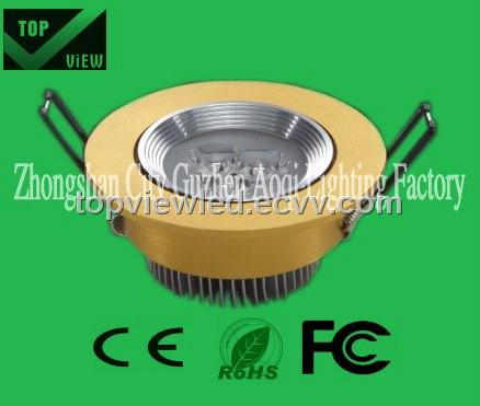 High power LED downlight/1*1W