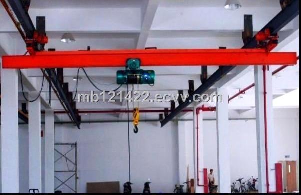 Lx Model Single Beam Electric Hoist Suspension Eot Crane