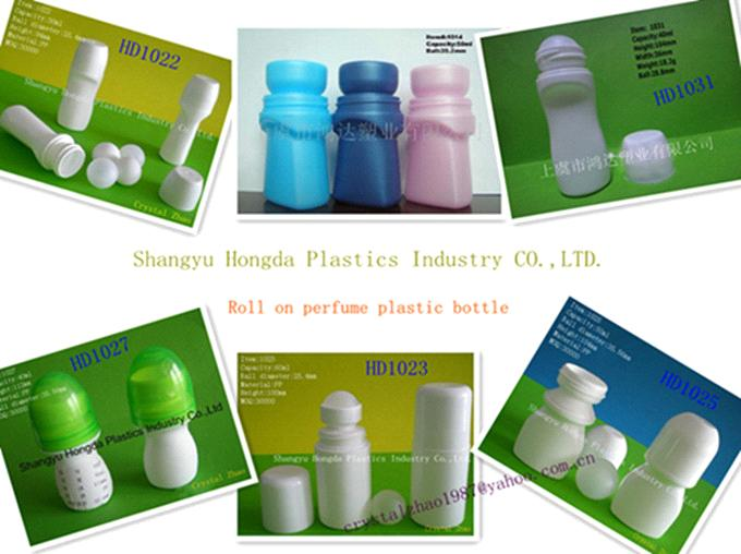 New design plastic roll on deodorant bottles from China