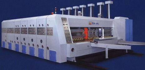 Packaging Automatic Flexo Printing and Slotting Die-Cutter machinery