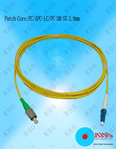 Single mode FC to LC Fiber Optic Patch Cord