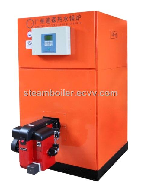 Oil Water Boiler ~ Vertical hot water boiler diesel oil heating